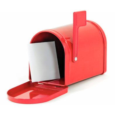 Red Mailbox graphic
